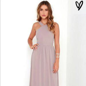 Lulu's Air of Romance Maxi Dress